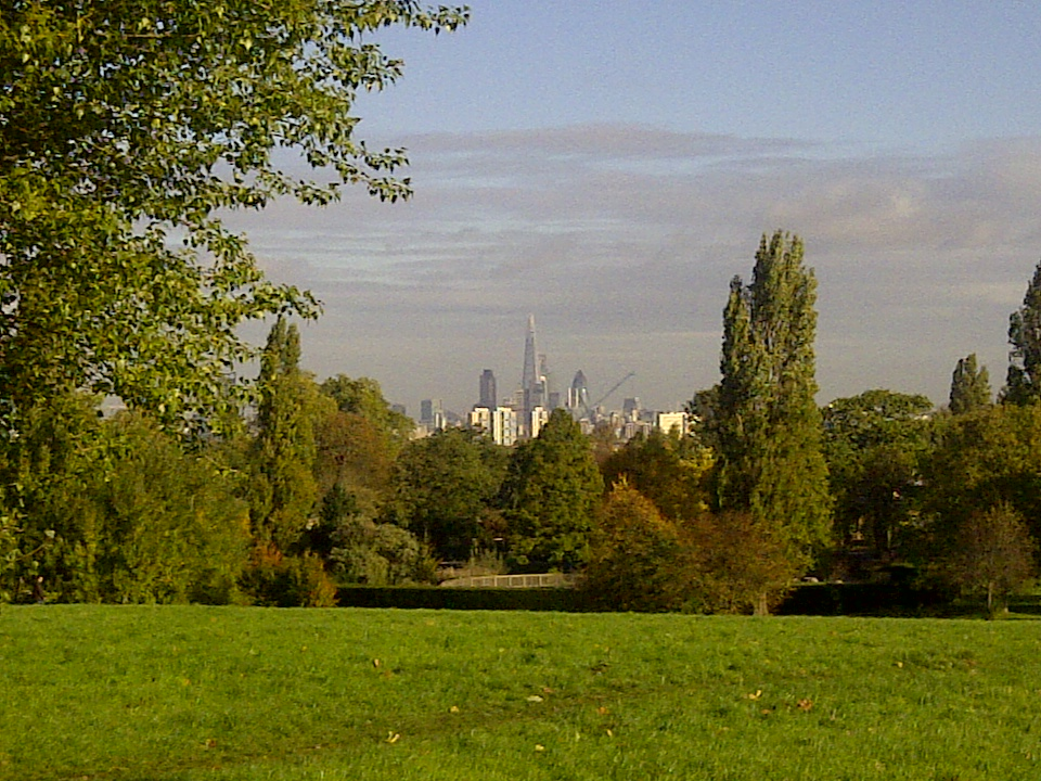 brockwell park and city
